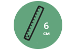 Высота матраса: 6 см