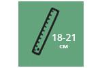 Высота матраса: 18-21 см