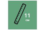 Высота матраса: 11 см