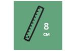 Высота матраса: 8 см